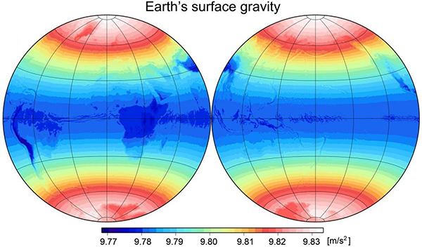 Earth Gravitational Model 2008