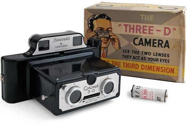 Coronet 3D camera