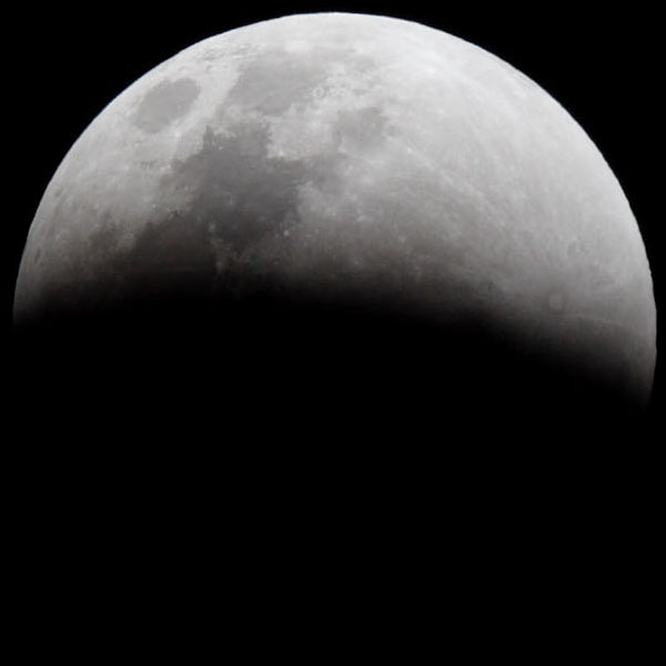 Partial lunar eclipse phase
