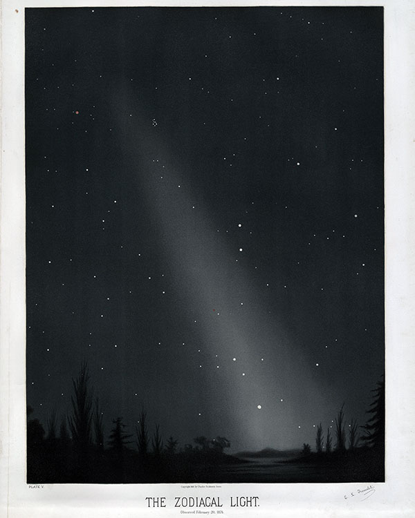 zodiacal light at Washington