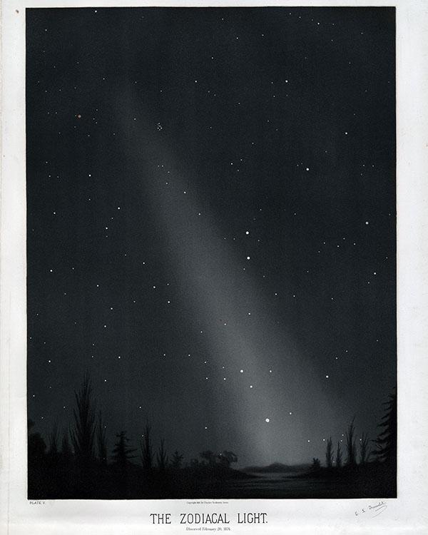 zodiacal light at Washington