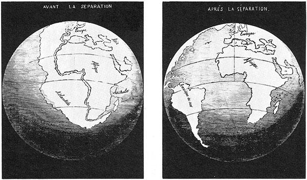 Snider-Pellegrini illustration