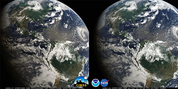 GOES stereo image, parallel