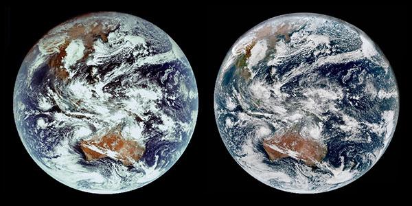 Himawari-KOMPSAT stereo image, parallel