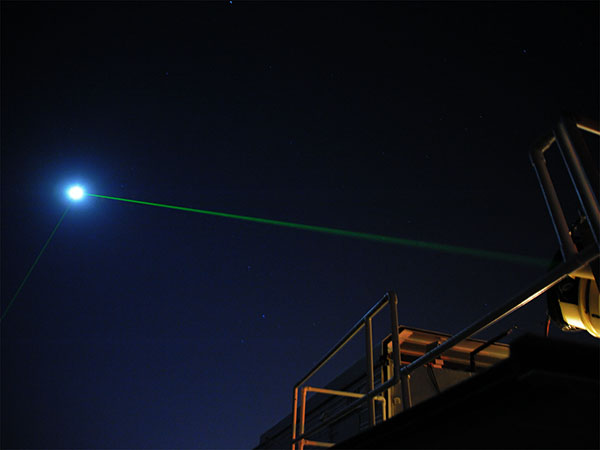 Laser ranging from an observatory