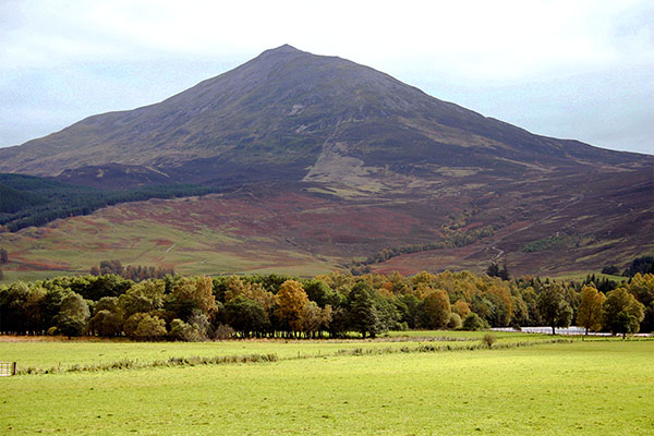 Schiehallion in Scotland