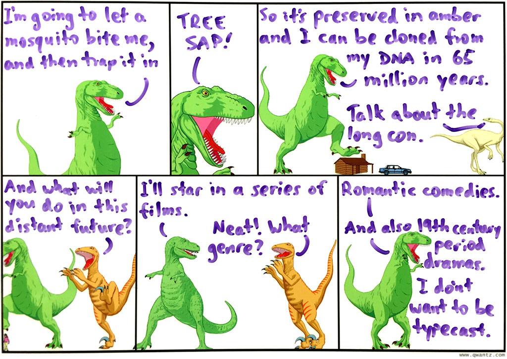 I'm a bit ambervalent about T-Rex's plan, frankly