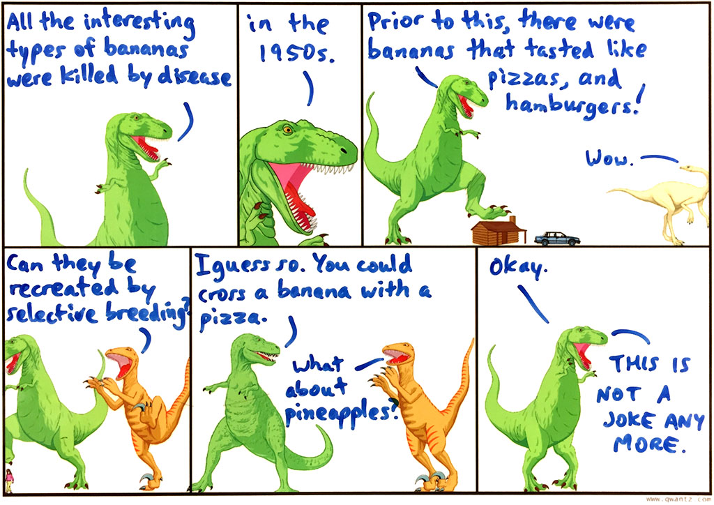 Possibly the most controversial Dinosaur Whiteboard ever