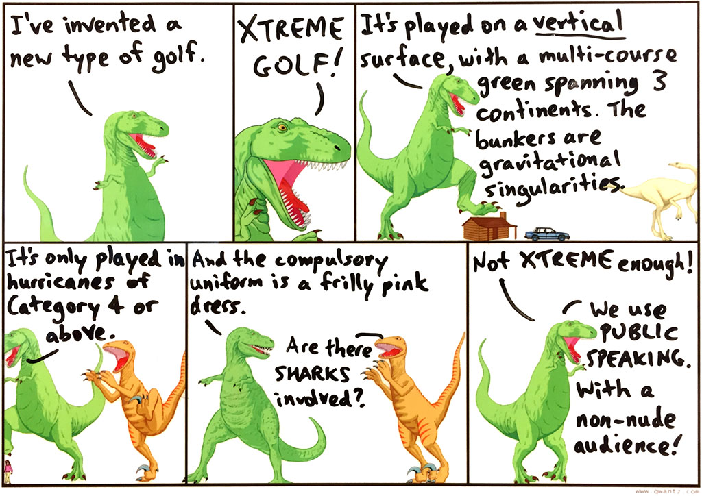 Only those who truly master their fear can play