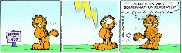 Garfield Meets Zeus