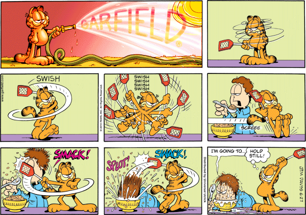Garfield Minus Fly