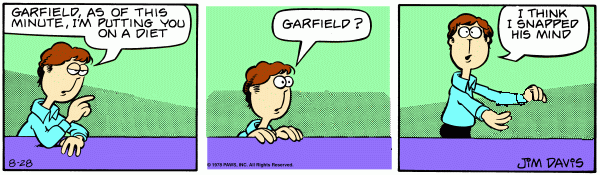 Imaginary Garfield: Diet