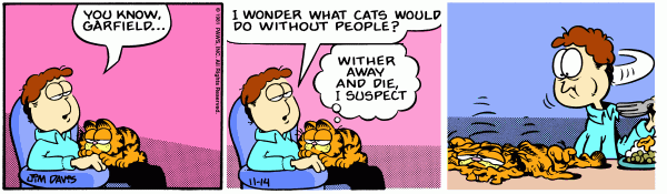 Wither, Garfield?