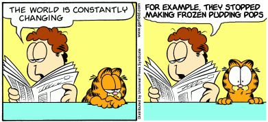 Yes, Garfield, That's Exactly What They Did