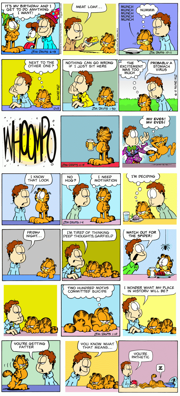 Random Garfield Collection