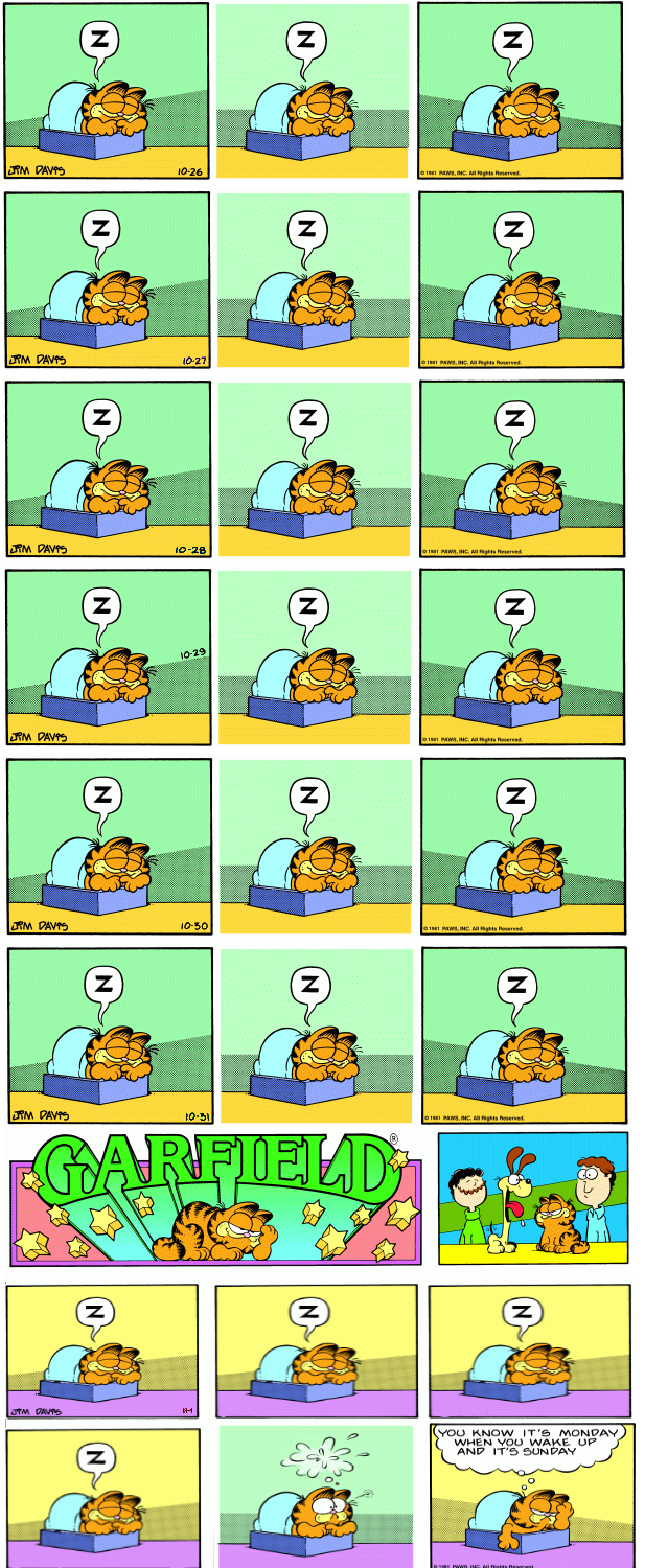 Garfield plus Brevity(?)