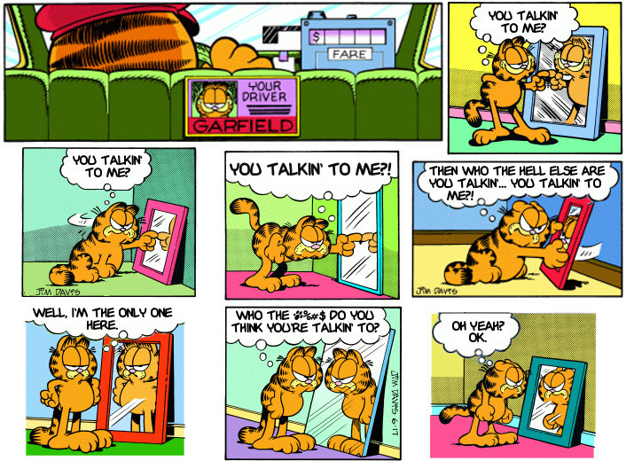 Garfield, Scorcese Style