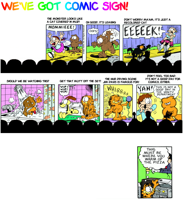 Mystery Garfield Theater 3000