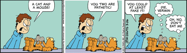Garfield Gets It Backwards