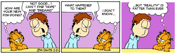 Garfield Before Swine