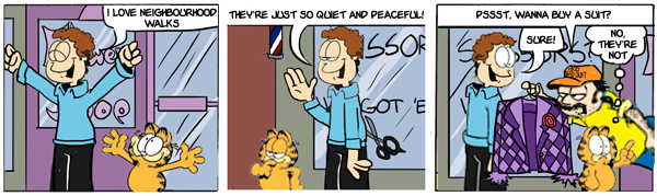 Total Substitution Garfield