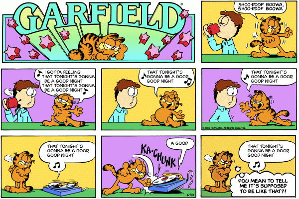Black Eyed Garfield