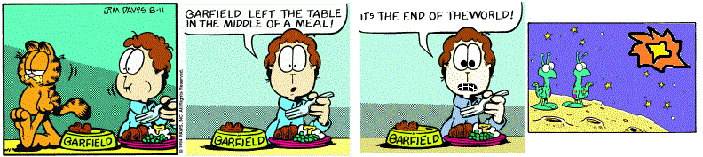 Stay In Character, Garfield