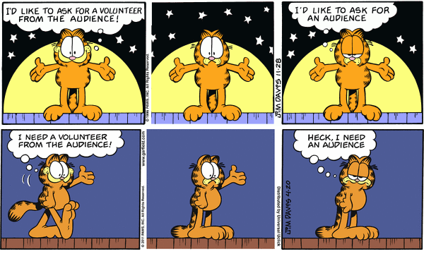 Spot The Difference With Garfield 5