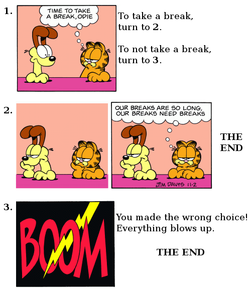 Choose Your Own Garfield #2
