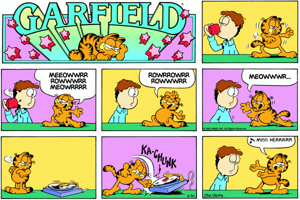 Garfield Minus Music