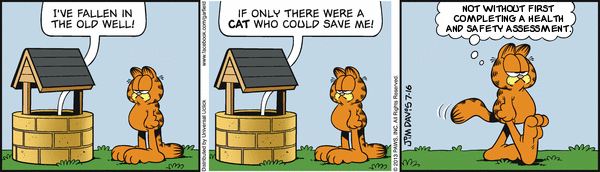 Garfield plus Health and Safety