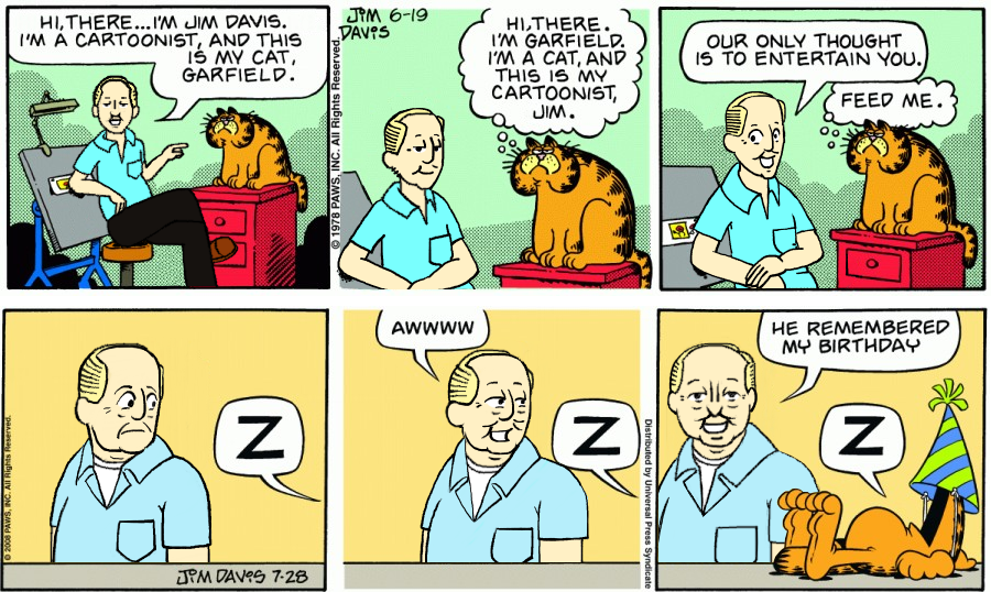 Jim Davis as Jon (Happy Birthday, Jim Davis)