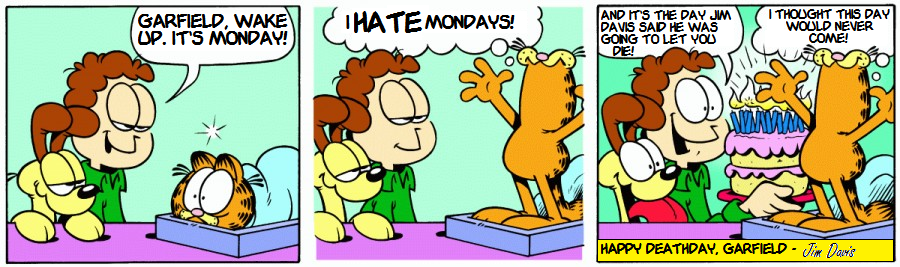 22nd Birthday Special: Deathday Garfield