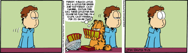 Magic Garfield