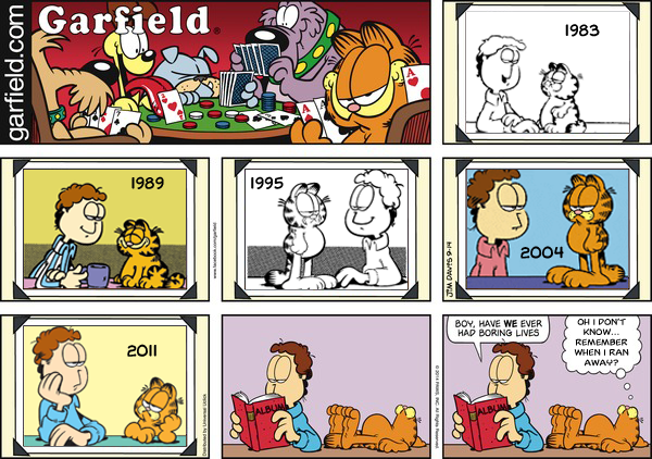Garfield & Jon Photo Album
