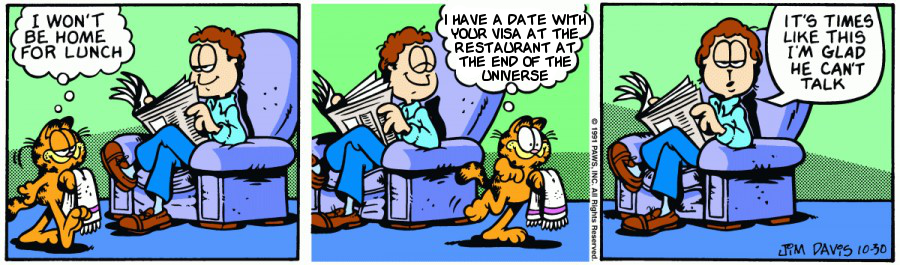 Hitchhiker's Guide to the Garfield