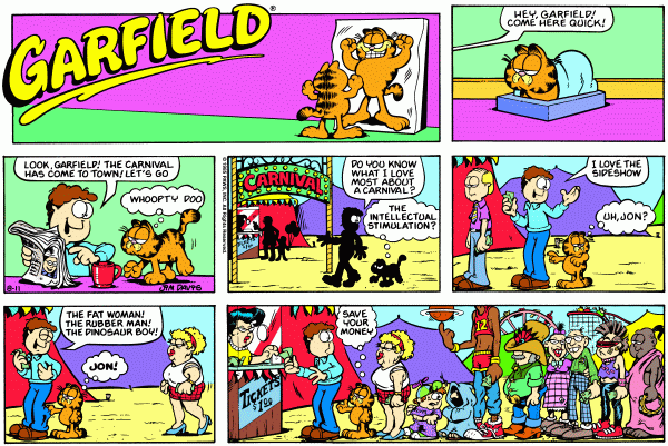 Garfield Minus One Dollar, or,