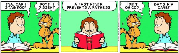 Resultado de imagem para Doc, Nota: I Dissent.  Um jejum nunca impede uma gordura.  Eu faço dieta no bacalhau.