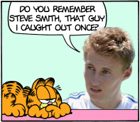 Joe Root of Minus Garfield