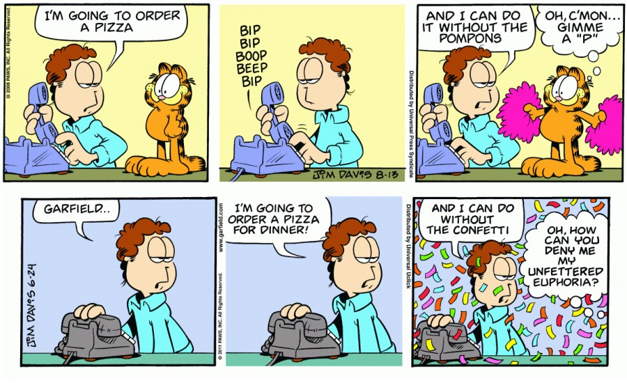 Spot The Difference With Garfield 7