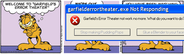 Garfield's Error Theatre #3