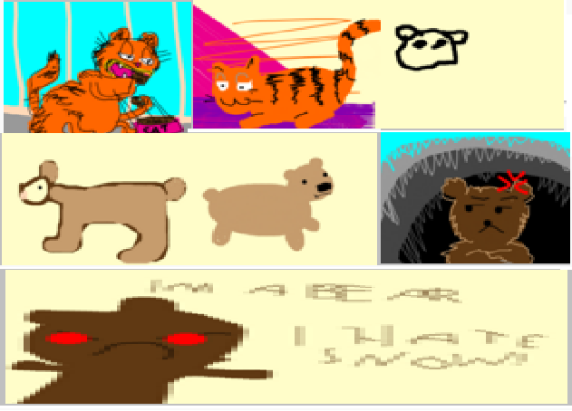 Square Root of Garfield Plus Drawception