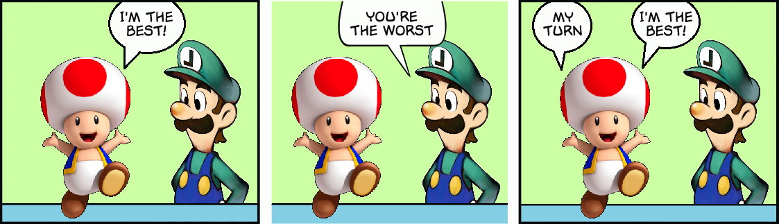 [This Strip Has Been Copyright Claimed By Nintendo]