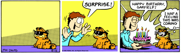 Garfield in 2053: Birthday Edition