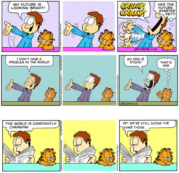 Garfield Minus Originality