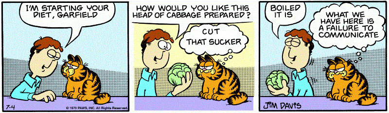garfield like coleslaw