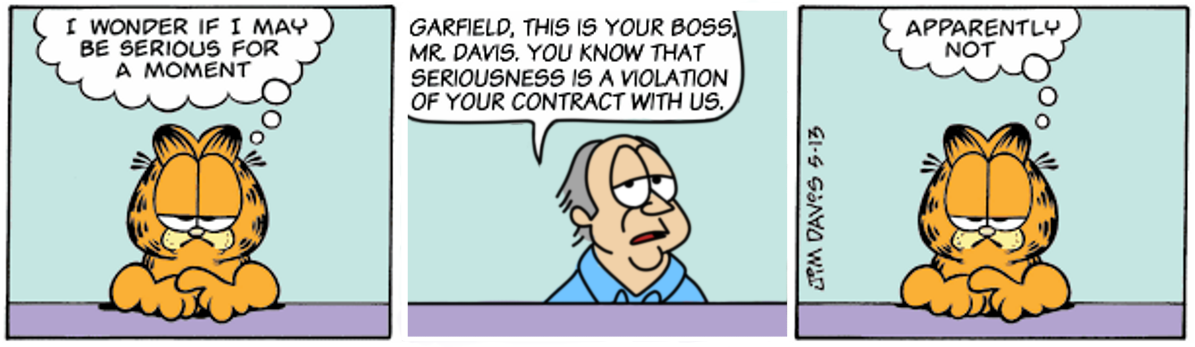 Garfield's Contractual Requirement Redux
