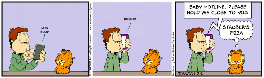 I Contend That Your Garfield Eye Has Never Opened