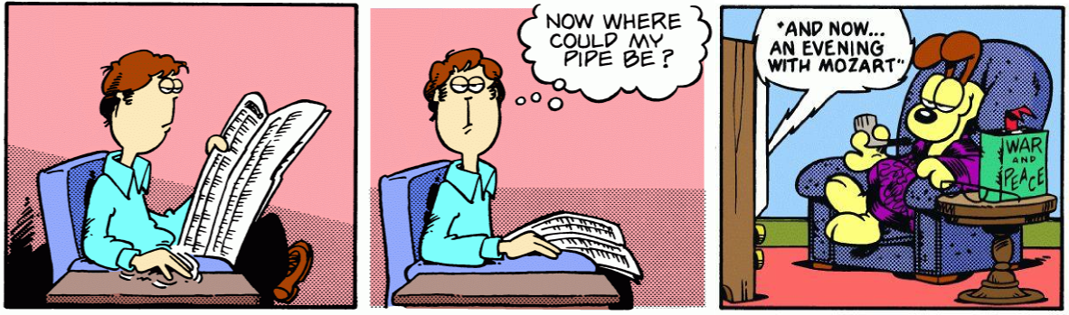 Where Else Could Jon's Pipe Be?