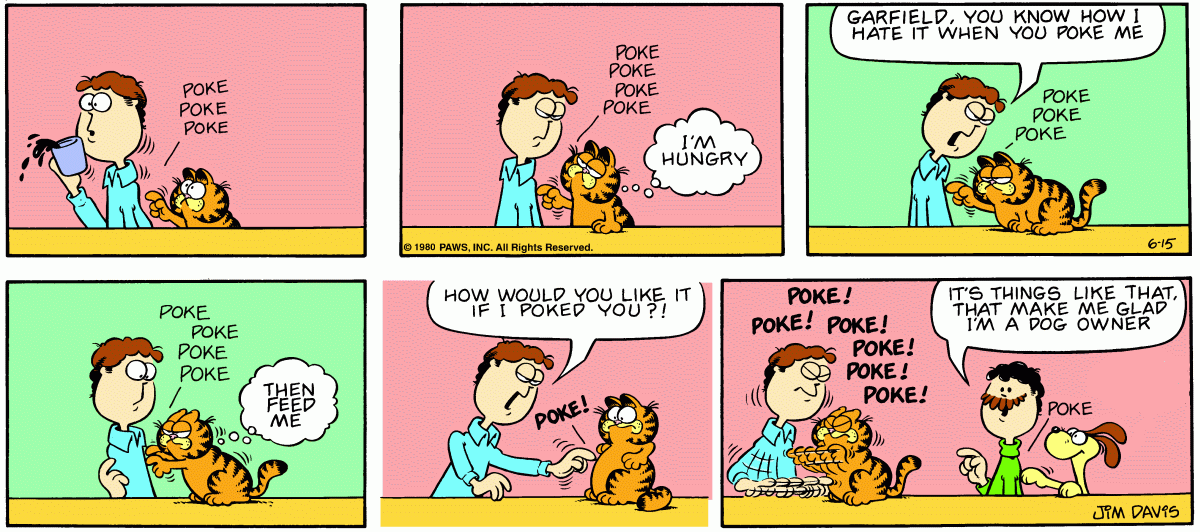 Garfield Minus... Odie's Thought?